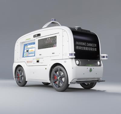 AI无人回收车