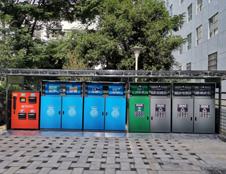 曲靖智能化垃圾分类箱案例 让智能生活更精彩
