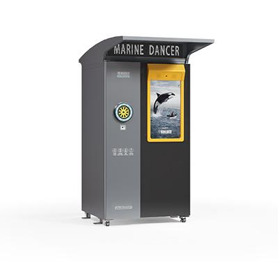 620升智能户外瓶类回收箱