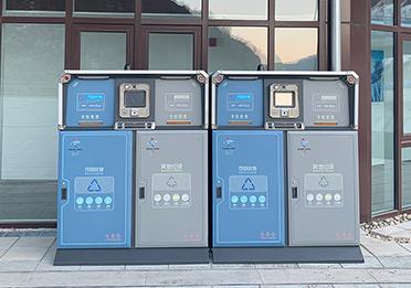 北京冬奥会四分类垃圾箱案例