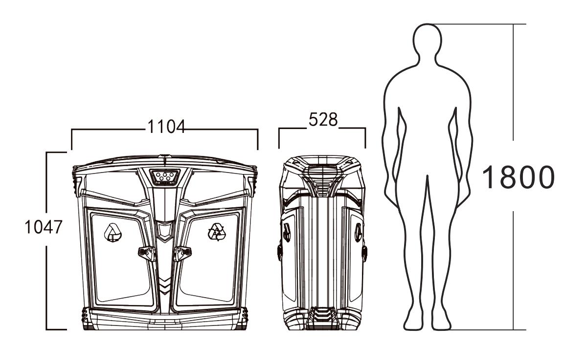 太阳能两分类果皮箱产品尺寸图.jpg